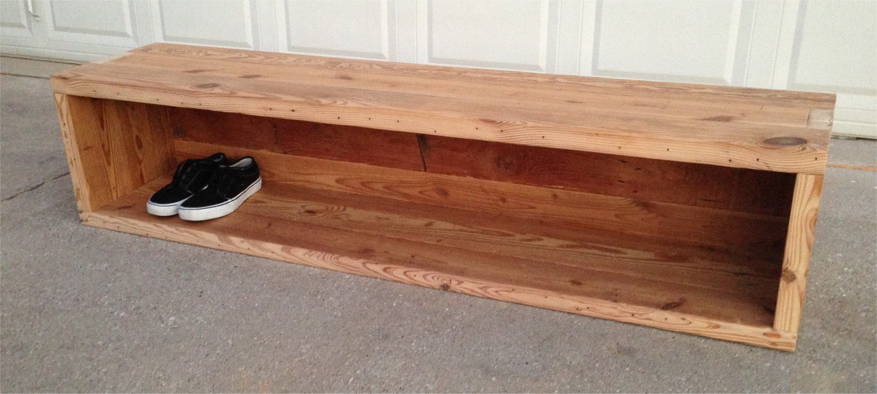 Reclaimed Storage Bench The Grain